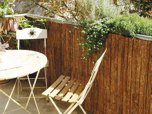 rindenmatten komplett nat rliche nachhaltige sichtschutzmatten. Black Bedroom Furniture Sets. Home Design Ideas
